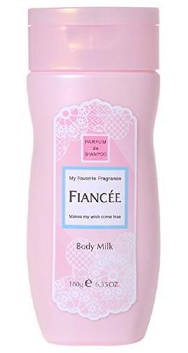 日本 FIANCEE 菲安斯 清新出浴香水味身体滋润乳液