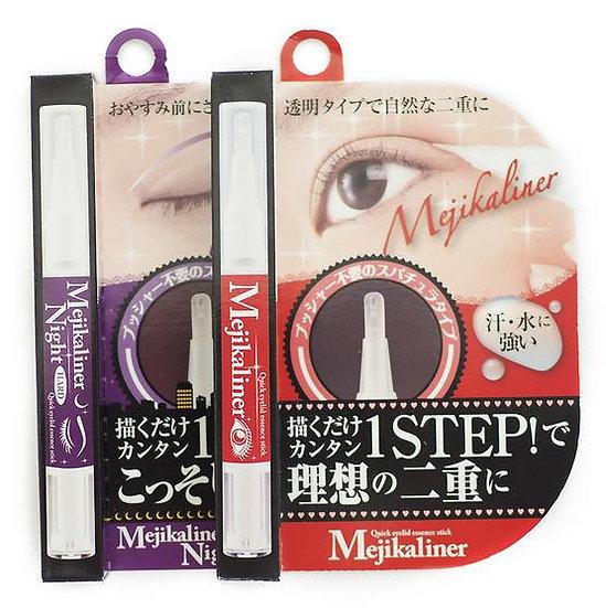 日本 Mejikaliner 隐形双眼皮胶水定型液速干笔 日/夜用