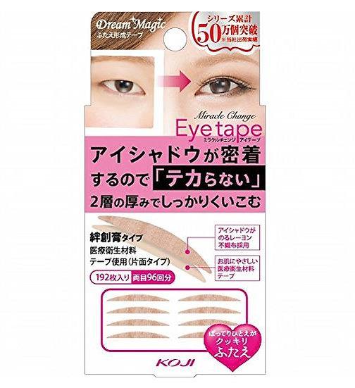 日本新版KOJI蔻吉DREAM MAGIC魔法双眼皮贴 双层加厚版