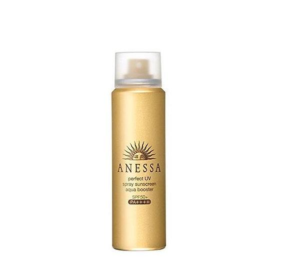 Shiseido资生堂ANESSA安耐晒安热沙防晒霜 防水保湿防晒喷雾瓶装