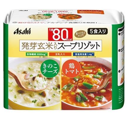 日本Asahi 朝日豆乳玄米烩饭速食粥 低热量代餐