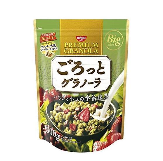 日清NISSIN 代餐速食综合果实谷物营养早餐麦片--红豆、宇治抹茶