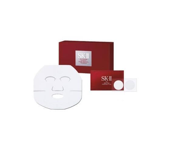 日本SK-II 晶致焕白瞬效智慧凝面膜组 晶致焕白深层修护面膜+焦点祛斑凝膜