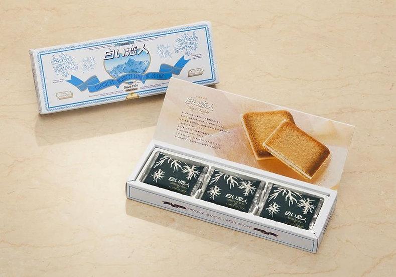 日本北海道白色恋人巧克力夹心饼干 多款