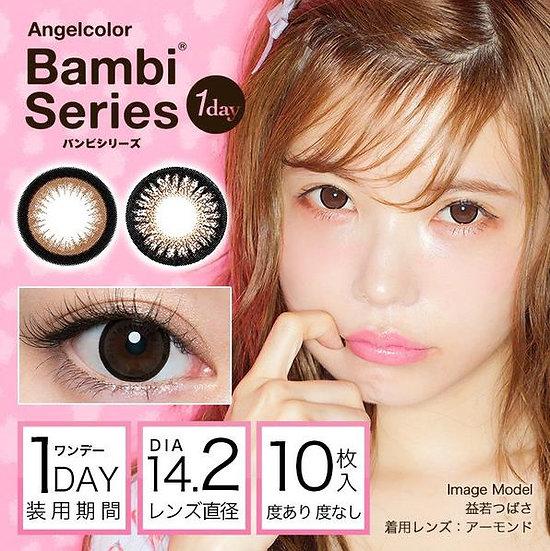 Angelcolor 1day日抛10片装美瞳隐形眼镜,益若翼代言 Bambi系列 共2色