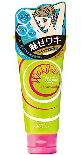 日本 BISON佰松 Wakilala 女士腋下柔嫩美白清洁膏