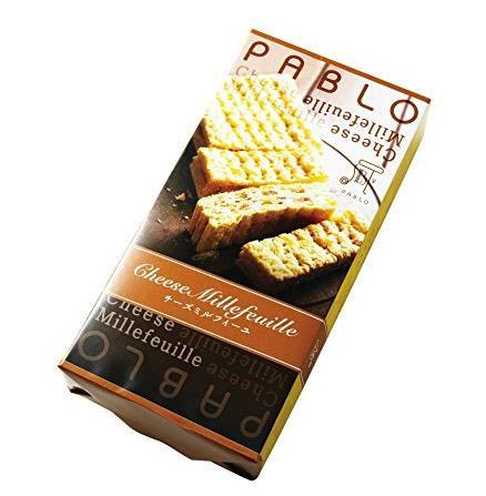 日本大阪 パブロ PABLO 芝士奶酪夹心拿破仑千层酥