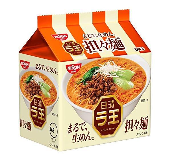 日本方便面 日清NISSIN 拉王担担面美味十足拉面泡面