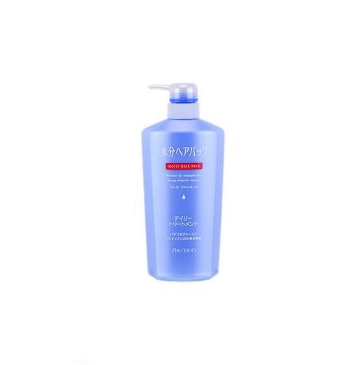 日本SHISEIDO资生堂 AQUAIR水之密语 保湿密集修复润发乳  护发乳  600ml 每单限购1瓶