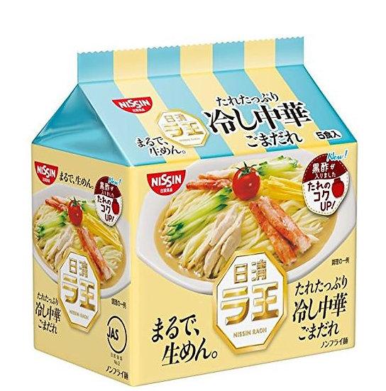 日本方便面 日清NISSIN 冷し中華 中华冷面 深煎芝麻黑醋风味泡面