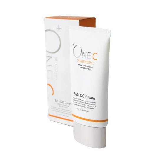 日本Cosme受赏+ONEC BB霜 BB+CC霜保湿美白防晒隔离霜 孕妇可用