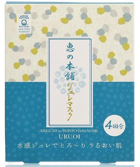 日本惠の本铺/惠之本铺 新款 啫喱面膜4片 三款可选 混合肌