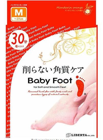 日本BABY FOOT 还原嫩足3D去死皮足膜 1对入 COSME大赏受赏