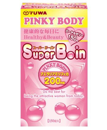 日本再春馆 Pinky Body Super Boin紧致弹润美乳丰胸 150粒