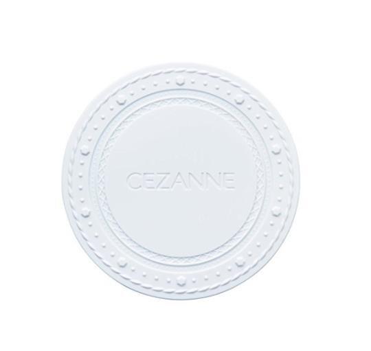日本CEZANNE倩丽透明感保湿粉饼 轻薄清透素肌棉花糖蜜粉