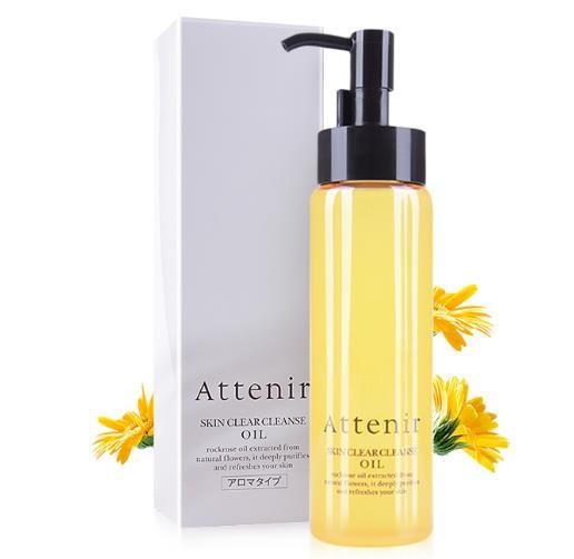 Cosme卸妆第一名 日本ATTENIR 艾天然双重洁净无刺激卸妆油