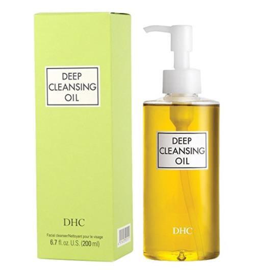 日本DHC蝶翠诗橄榄卸妆油200mL 深层清洁温和眼唇收毛孔卸妆水