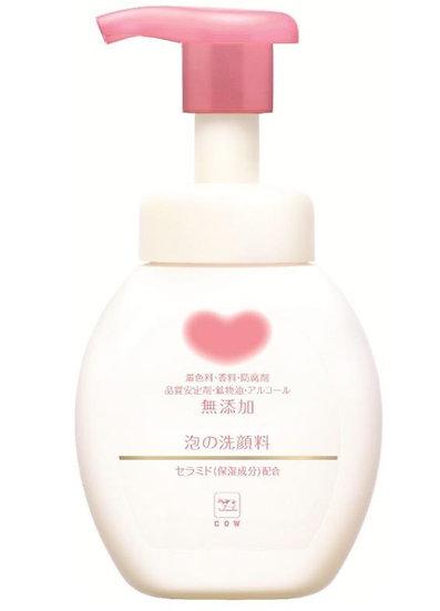日本COW牛乳石碱共进社 无添加 牛乳石碱泡沫洗面奶 200ml 每单限购一瓶
