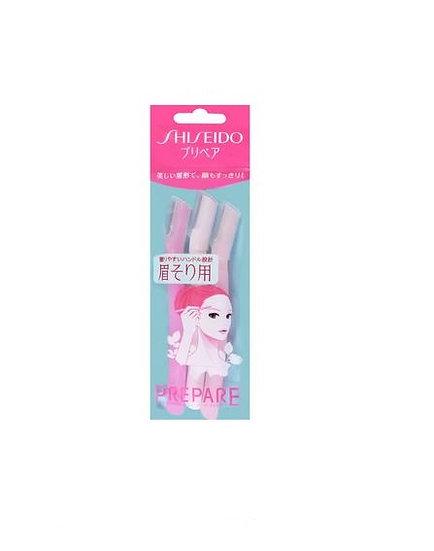 日本SHISEIDO资生堂 PREPARE 女用专用修眉刀 3把入