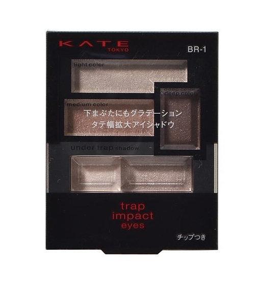 日本KANEBO嘉娜宝 凯朵KATE 眼影 诱惑冲击魅惑大眼五色眼影盘 三款可选