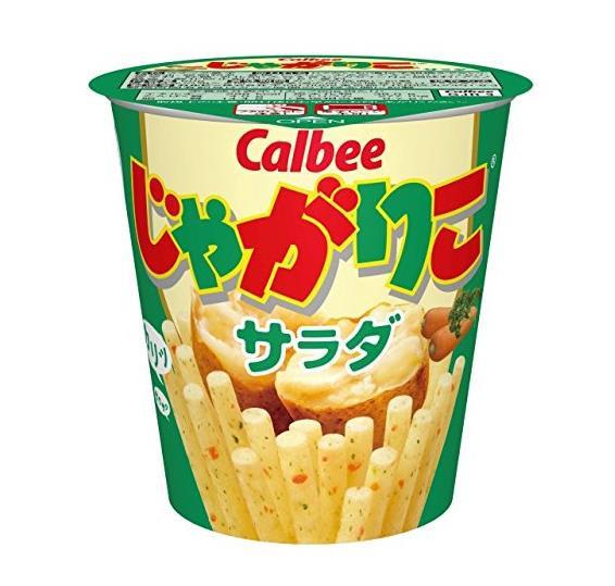 日本零食 Calbee卡乐比 零食棒-土豆沙拉口味 4盒
