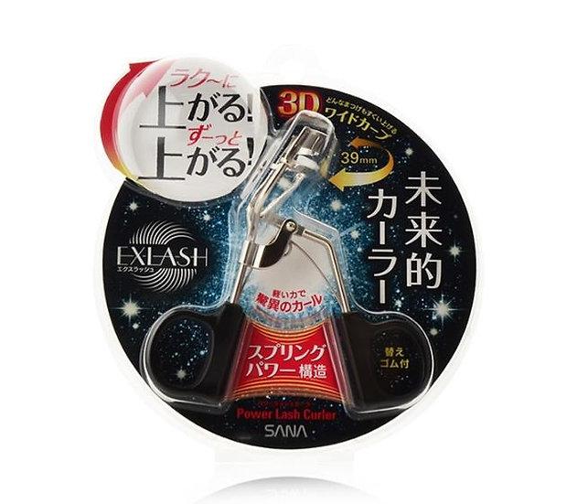 日本SANA莎娜 EXLASH 3D立体睫毛夹 39mm广角睫毛夹 不伤睫毛