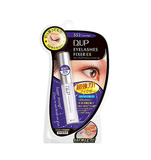 DUP/D-UP假睫毛胶水防水隐形透明大眼靓眸 双眼皮透明胶水