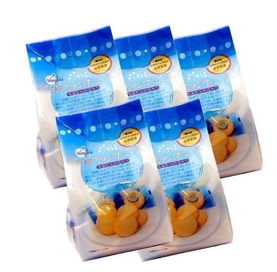 日本冲绳传统糕点 Nampo 海盐金楚糕  5包