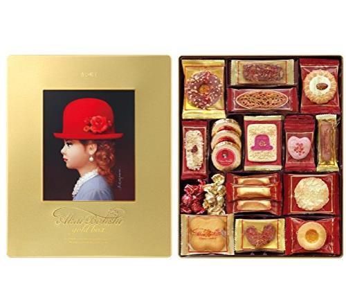 日本高端 AKAIBOHSHI千朋红帽子礼盒曲奇花色饼干