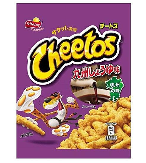 日本零食 CHEETOS 奇多九州酱油味 5包