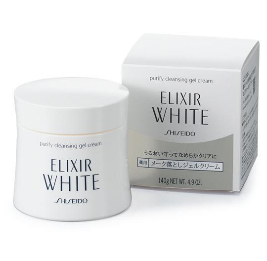 日本Shiseido 资生堂 怡丽丝尔Elixir 纯肌净白美白卸妆膏