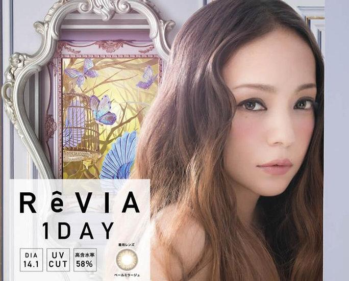 ReVIA Color系列 日抛美瞳隐形眼镜,安室奈美惠代言  共六色