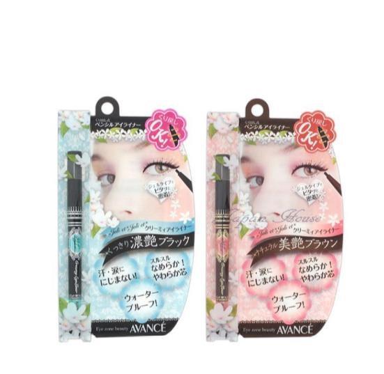 日本AVANCE Joliet Joliet霜状养肤防水眼线j胶笔 自动旋转不易晕染