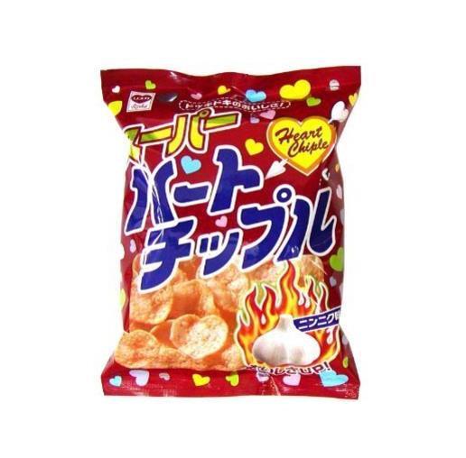 日本零食 Riska美味蒜香薯片 5包