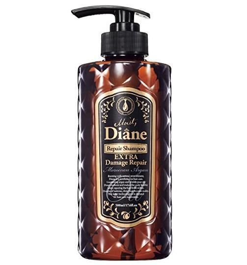 日本Moist Diane黛丝恩无硅摩洛哥油洗发水 每单限购一瓶