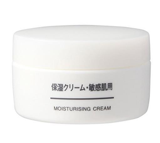 日本MUJI无印良品敏感肌面霜 补水冬季保湿擦脸霜 滋润秋冬