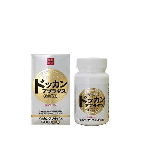 日本Sundrug dokkan abura das GOLD夜间植物酵素金装150粒