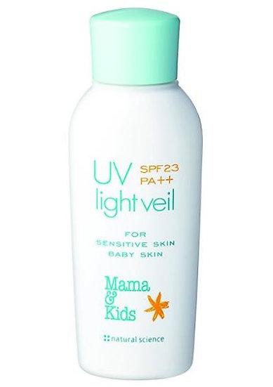 日本 Mama & Kids UV防晒乳液宝宝补水保湿防晒乳防紫外线 SPF23