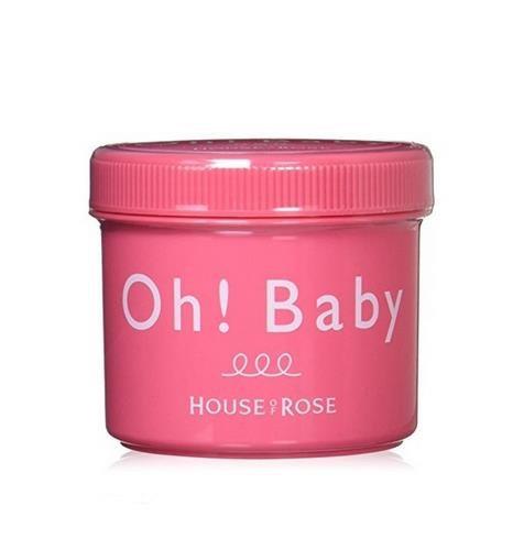 日本HOUSE OF ROSE Oh!Baby 身体去角质磨砂膏 570g COSME大赏受赏