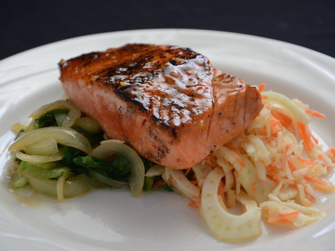Iron Seared Salmon