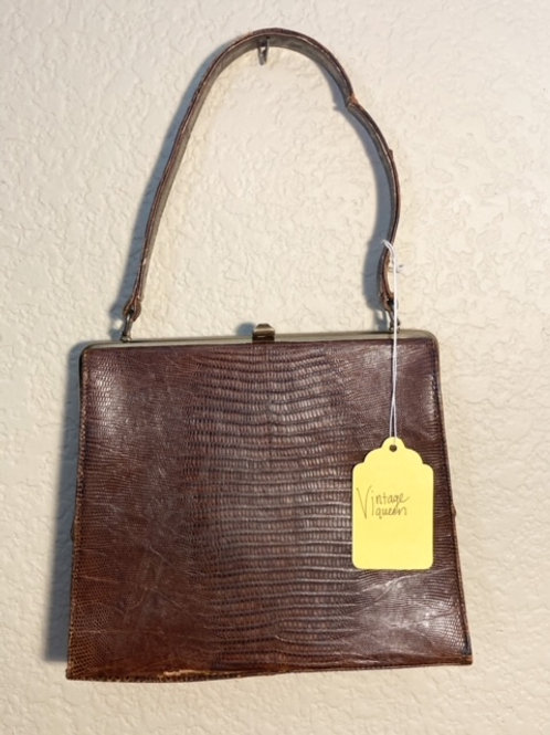 Vintage 50s Deitsch luxury alligator purse