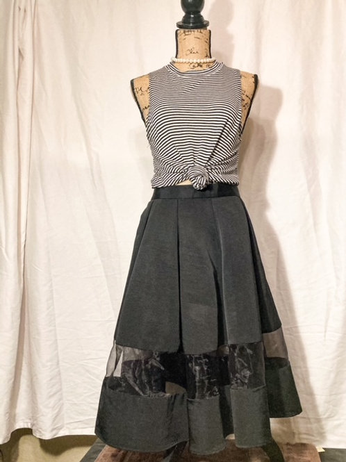 Express Fit n Flare skirt