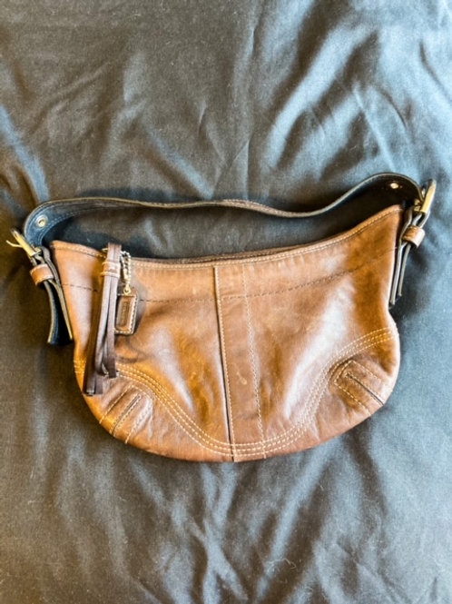 Chocolate Coach purse