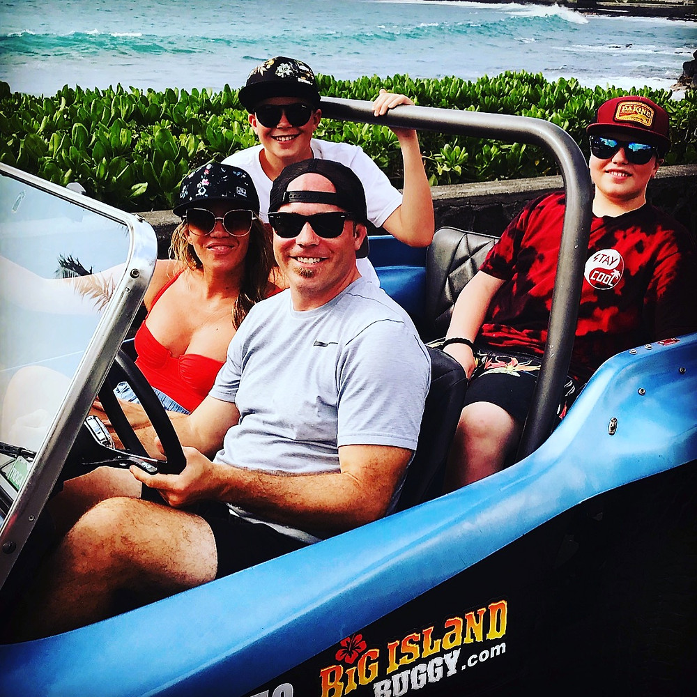 WOW wow wow!! MAHALO!! We truly LOVE our guests! We are SO happy that you enjoyed our buggy!