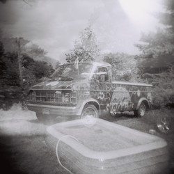 Slut Bus double exposure