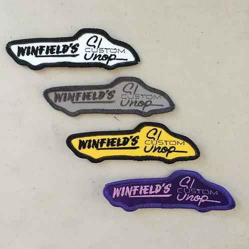 Winfields Custom Shop Patches