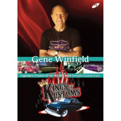 Kings of Kustoms DVD Featuring Gene Winfield
