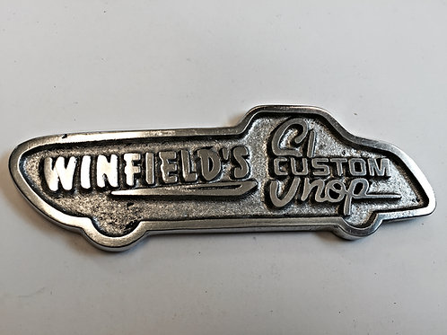 Winfields Custom Shop small Plaques