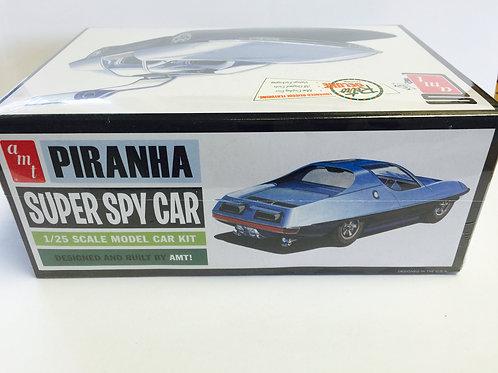 The PIRANA Spy Car Model Kit