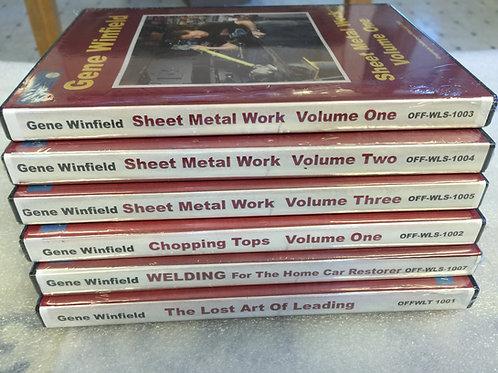 Gene Winfield Single DVD